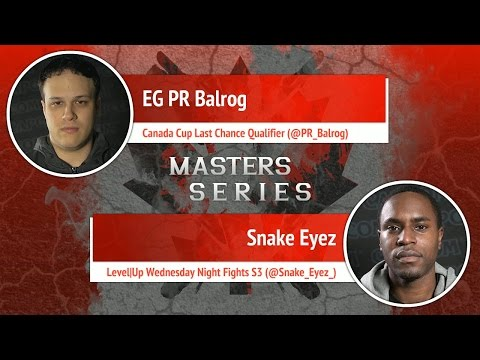 USFIV: EG PR Balrog vs Snake Eyez - Canada Cup Master Series