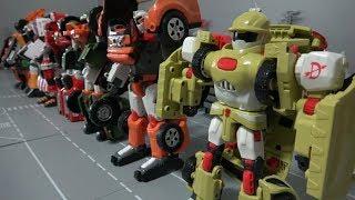 Tobot 7 Robot Transfomer Car Toys 또봇 7대 로봇 자동차로 장난감 변신