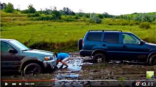 OFF ROAD 4x4 - Ford escape & Nissan terrano 2...