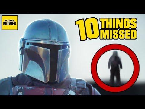 Star Wars The Mandalorian Trailer Breakdown -  Things Missed amp Easter Eggs