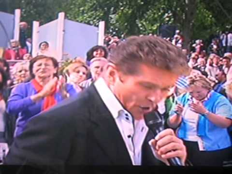 david hasselhoff looking for freedom 2010 (live)