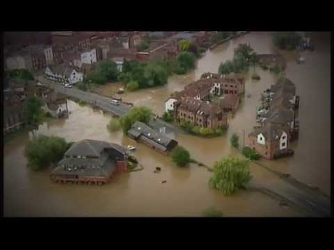 UK Floods 2014 - BBC News at 10pm - Ambiental