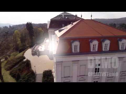 DEMO Flug Schloss Wilhelminenberg DJI Phantom