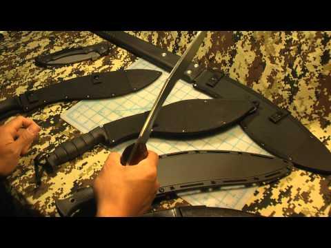 Gurkha kukri knives from Cold Steel. Ontario and Pakistan