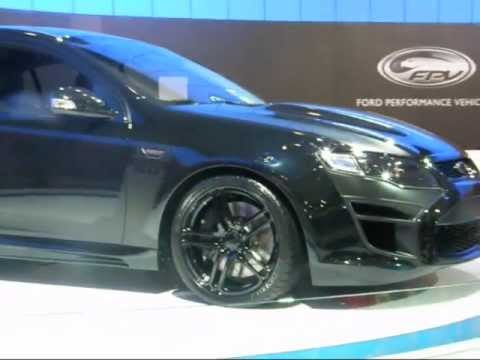 CONCEPT 5.0 FORD FPV GT BLACK BOSS 335 SUPERCHARGED