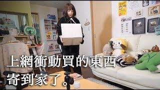 日本人的日常#2〜上網衝動買的東西寄到家了〜