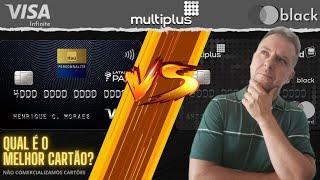 💳Multiplus MasterCard Black OU Multiplus Visa Infinite: Qual é o Melhor Cartão?🤔