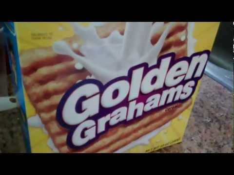 How To Make: GOLDEN GRAHAMS S'MORES!