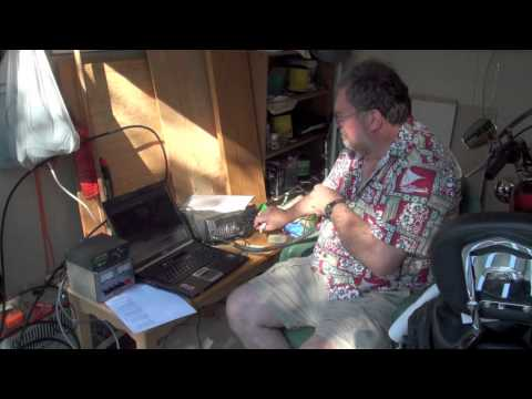 FO-29 Satellite QSO VA7ACG - KA6SIP
