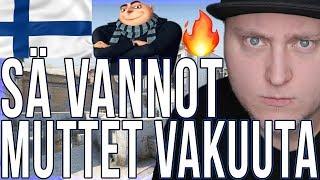CS:GO SUOMI - SÄ VANNOT MUTTET VAKUUTA (Counter Strike: Global Offensive Competitive Hauskat Hetket)