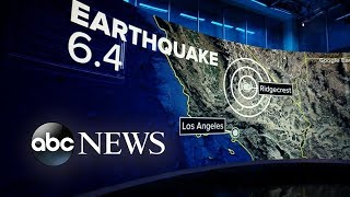 California town under state of emergency after 6.4 magnitude quake