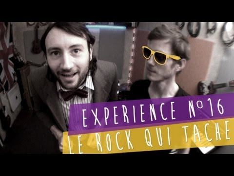 Exprience n16 - Le rock qui tache [PV Nova & Philippe Krier]
