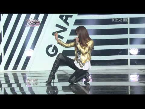 110121 G.na - Black & White [hd] video