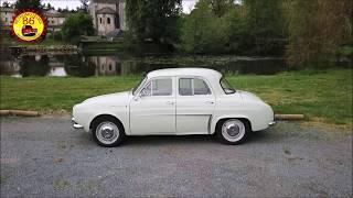 Une Renault Dauphine en balade