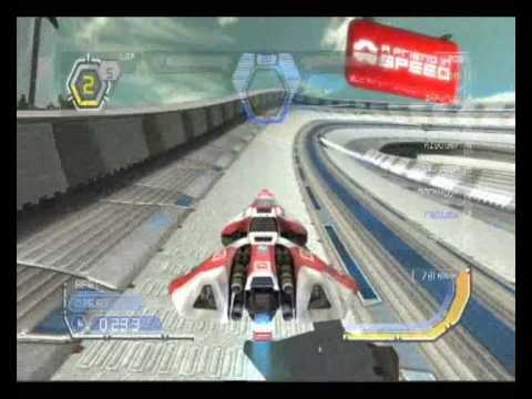 WipEout HD: ANZAC vs France 1 Part 1 - Weapons On - Phantom