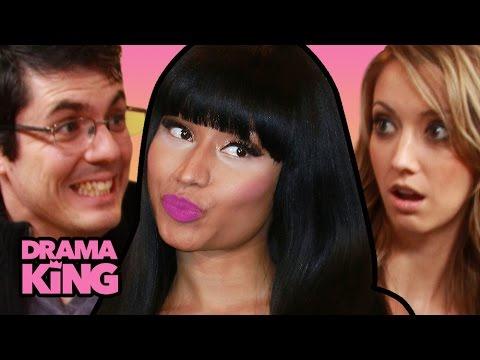 Nicki Minaj SEXY Pink Print Game - Ft. Taryn Southern & Jovenshire - Drama King Ep 10