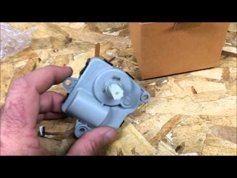 2010 Chevy Equinox Blend Door Actuator Replacement