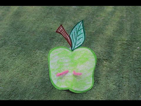 יצירה לראש השנה תפוח