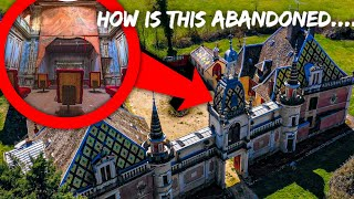 ABANDONED PALACE OF 100 SECRET DOORS (MIND BLOWING FINDS)