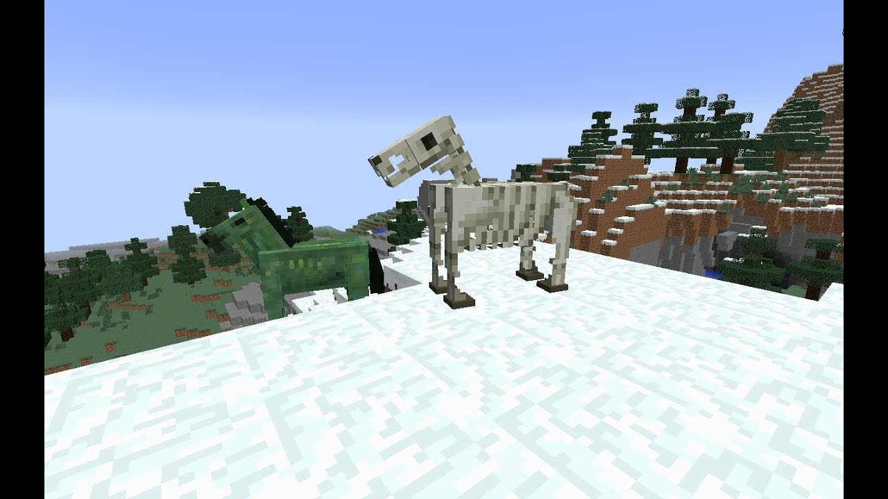 how to make a zombie horse in minecraft