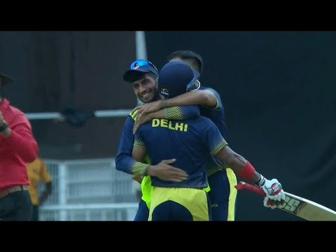 Vijay Hazare Trophy 2018-19: Highlights | Delhi vs Jharkhand, 2nd Semi-Final | Last over thrill