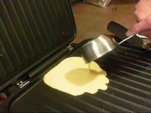 how to cook scrambled eggs on a grill