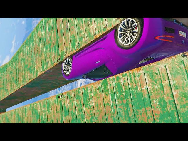 IMPOSSIBLE WALL STUNT! (GTA 5 Funny Moments)