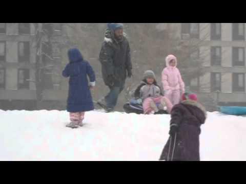 Snowy Days at Cambridge Friends School - Winter 2011