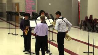 Lhs Wind Symphony Saxophone Quartet Fugue In G Minor By Bach