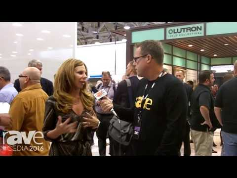 CEDIA 2016: Gary Kayye Talks to Lutron's Melissa Andresko
