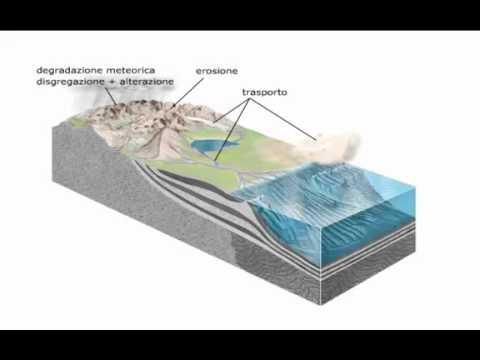 Stadi della Formazione di Rocce Sedimentarie
