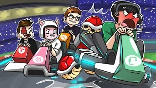 THE RAGE IS REAL! - Mario Kart 8 Funny Moments