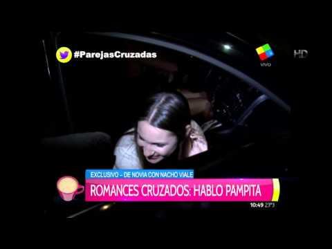 Pampita blanqueó que está de novia con Nacho Viale