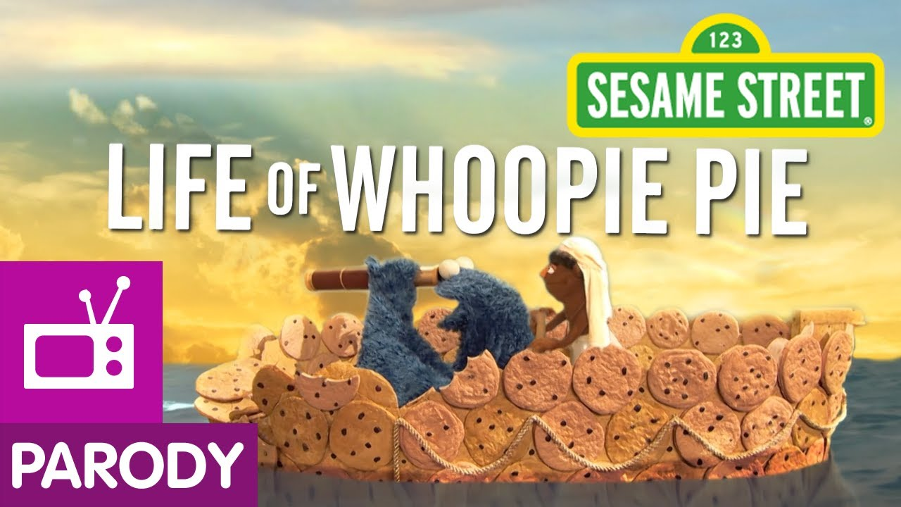sesame street life  whoopie pie life  pi parody youtube