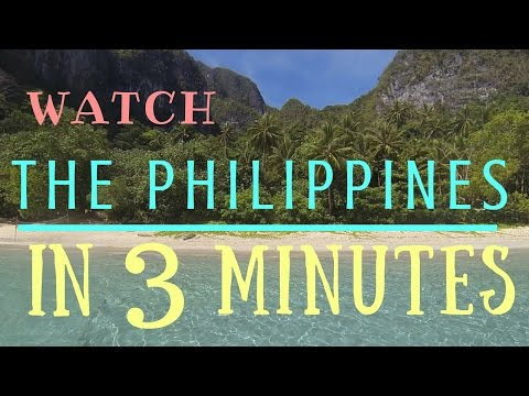 BACKPACKING Philippines in 3 minutes GoPro Cebu, Palawan, Bohol - Adventure Travel Guide 2016