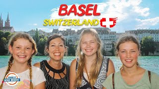 Welcome to Basel Switzerland - Europe's Cultural Hub | 98+ Countries with 3 Kids!