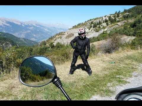 Motorcycle Journey through Western Europe - Germany. France. Monaco. the Alps. Switzerland