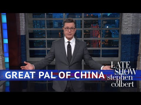 Trump Wants The U.S. To 'Be Cool' About China