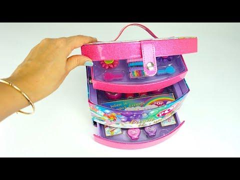 Косметический набор для девочек Распаковка