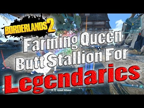 Borderlands 2 | Farming Queen Butt Stallion For Legendaries