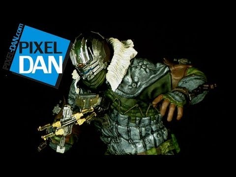 Kotobukiya Dead Space 3 ArtFX Isaac Clarke 1/6 Scale Statue Video Review