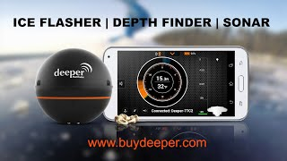 Deeper: Take ice fishing out of the ice age with versatile Deeper™ Smart sonar