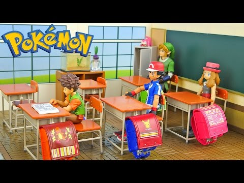 Studying at Pokemon School