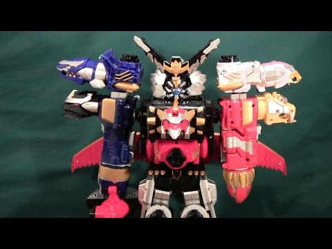 Tensou Sentai Goseiger Gosei Ground. Ground Gosei Great Review (Megaforce Gosei Grand Megazord)
