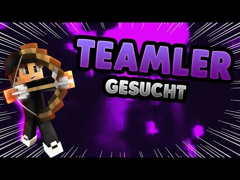 DIESER SERVER SUCHT TEAMMITGLIEDER!! - Minecraft Server Vorstellung 1.8 || Deutsch/German