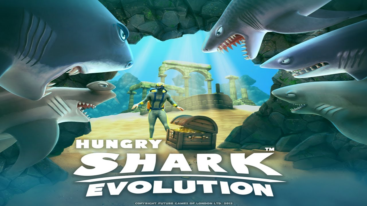 ���� Hungry Shark Evolution v4.1.0 ����� ����� (�����)