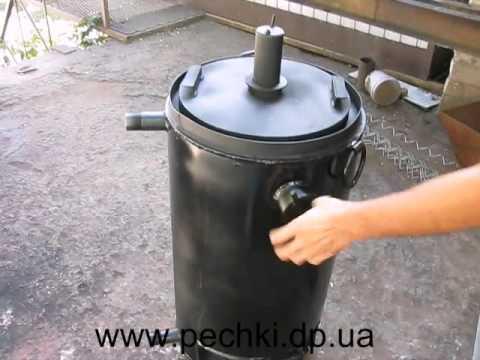 Котел бубафоня с водяной рубашкой своими руками