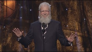 Ouça David Letterman Inducts Pearl Jam into the Rock & Roll Hall of Fame
