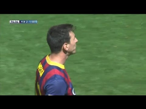 Barcelona vs  Getafe 2-2 All Goals & Highlights 03.05.2014