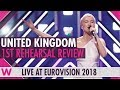United Kingdom First Rehearsal SuRie Storm Eurovision 2018 Review Wiwibloggs mp3